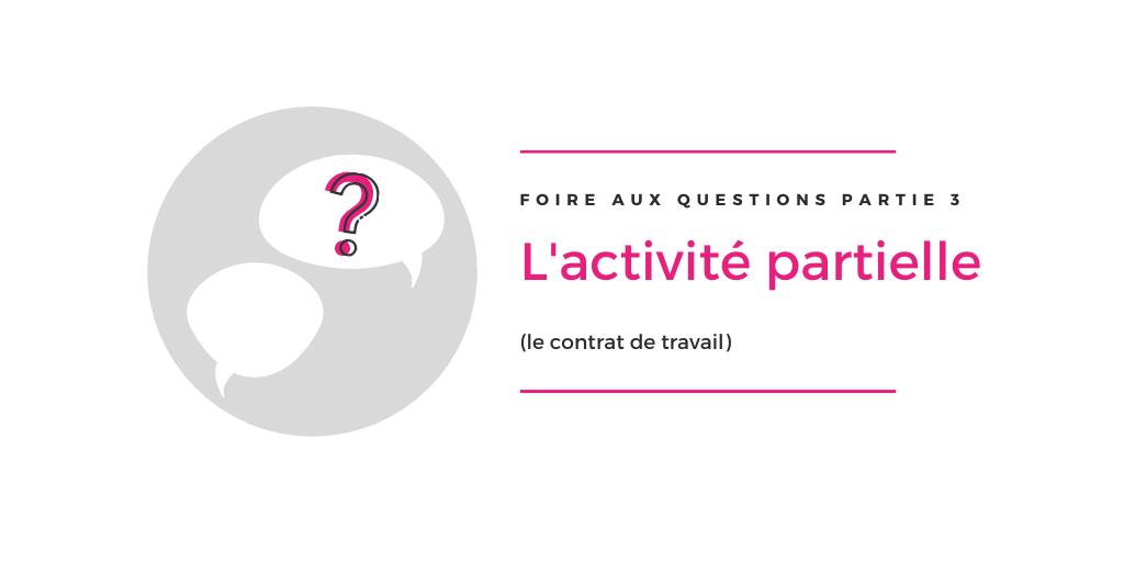 FAQ Activité partielle