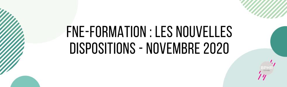 Fne-formation, nouvelles dispositions novemre2020